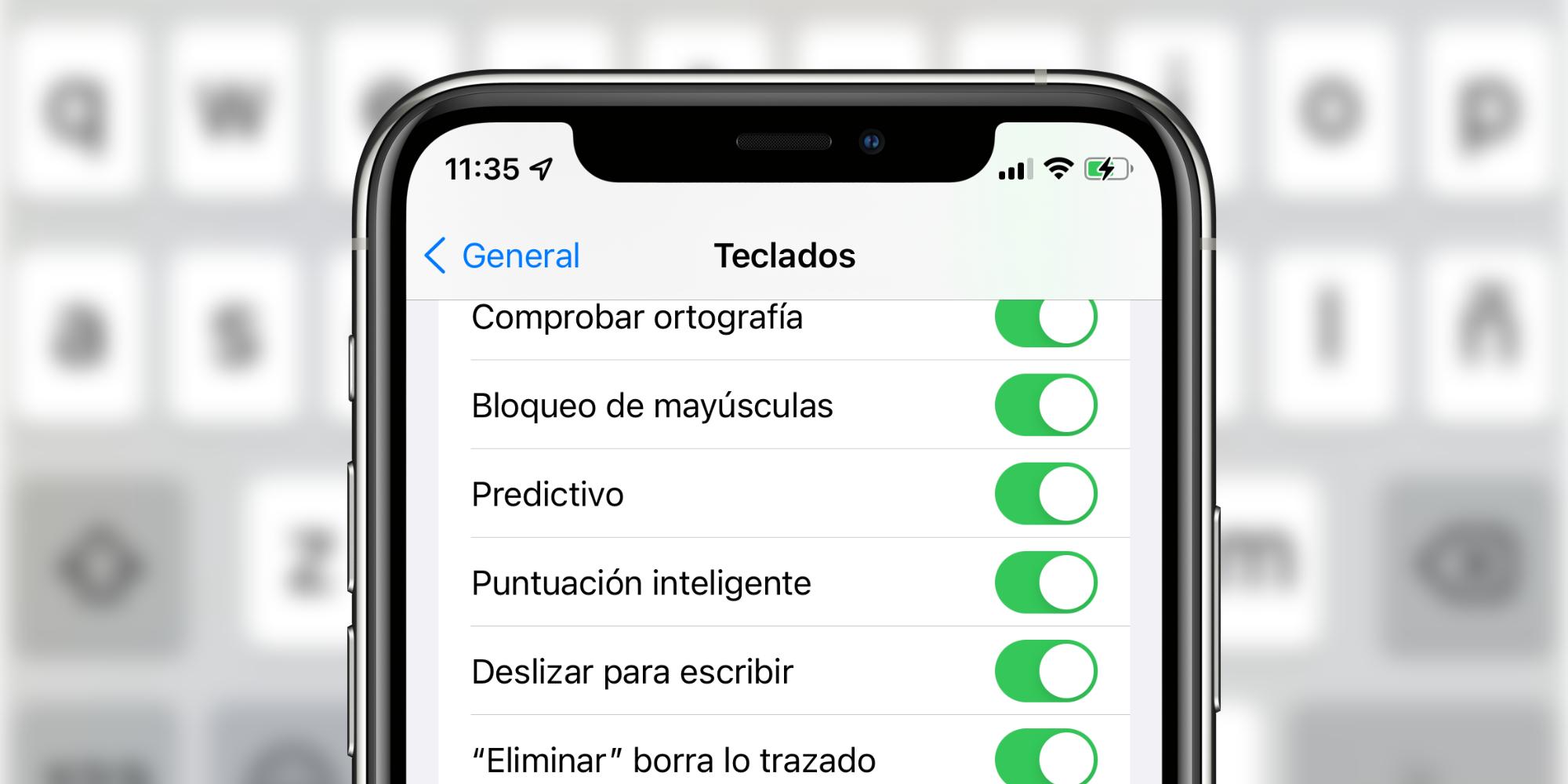 Qué es y cómo activar el teclado deslizante en nuestro iPhone o iPad