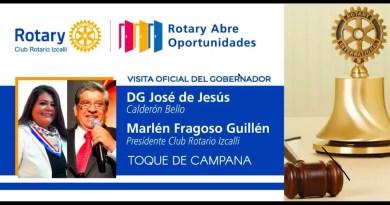 Entrega Marlene Fragoso reconocimiento a miembros del Club Rotario Izcalli