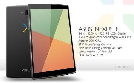 El Asus Nexus 8 tableta