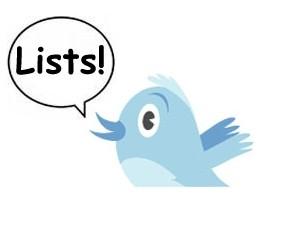listas de twitter