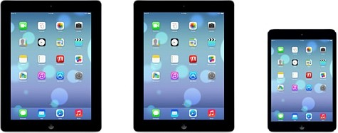 Apple lanza iOS7 para iPad y iPad mini