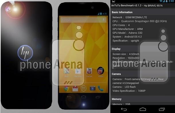 Hp lanzará su primer Smartphone Android en 2013