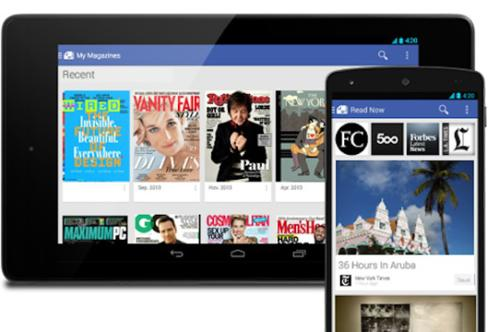 google play newstand