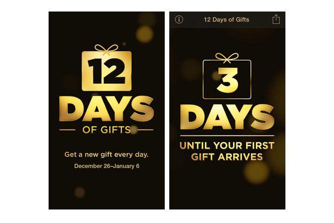 Apple 12 dias App