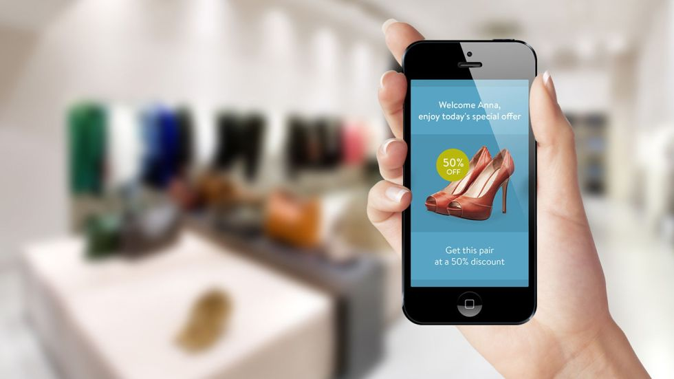 ibeacon compras apple