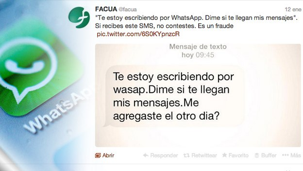 FACUA WhatsApp