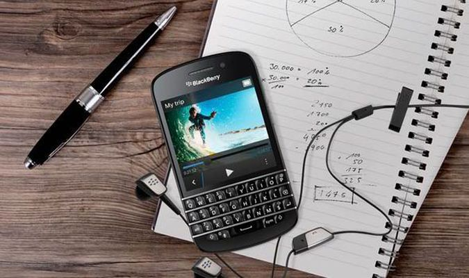 Blackberry Q20 MWC