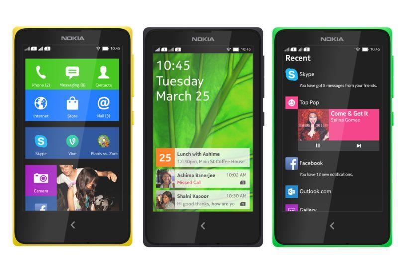 Nokia x xl x+