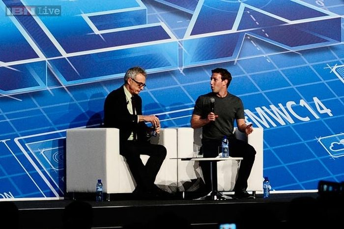 mark zuckerberg at mobile world congress