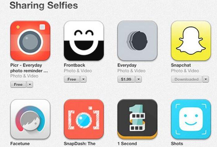 apple selfie