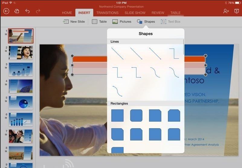 powerpoint for ipad2
