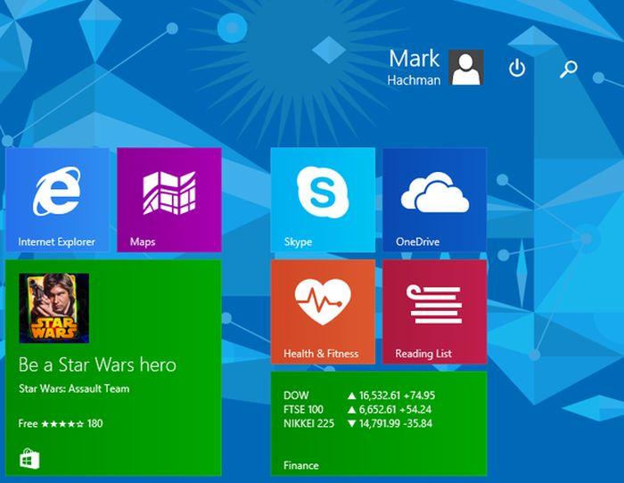 el nuevo windows 81 update
