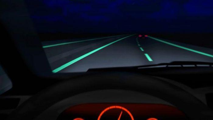 glow streets calles-fluorescente  carreteras