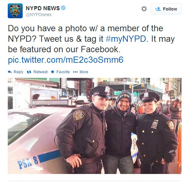 nypd twitter fotos photos