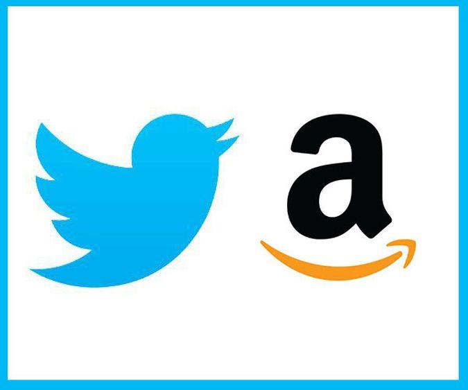Amazon y Twitter