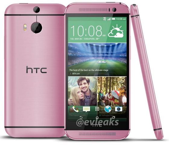 HTC M8 Rosa