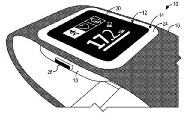 Microsoft SmartWatch Reloj Patente
