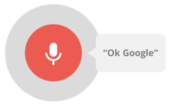 Ok Google la frase para iniciar la busqueda en chrome