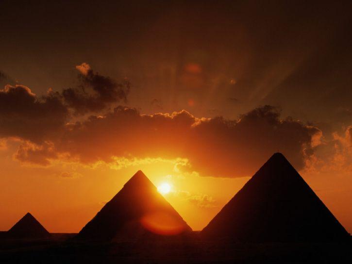 extraterrestres pirámides de Egipto
