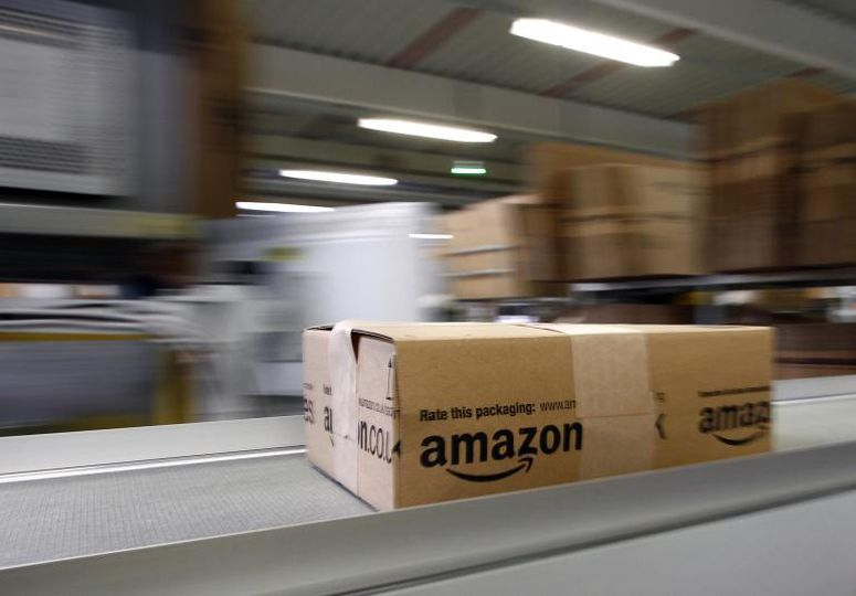 el posible lector de tarjetas de crédito portátil de Amazon
