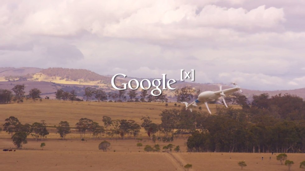 Google presenta su proyecto para volar drones