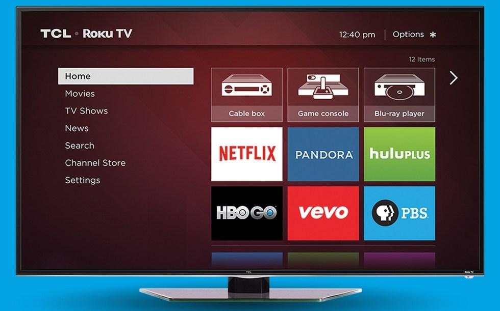 Roku se apunta al mercado de las televisiones con Roku TV