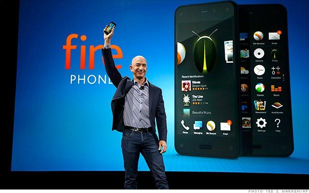 Compra el Fire Phone de Amazon por $0.99 centavos en EE.UU
