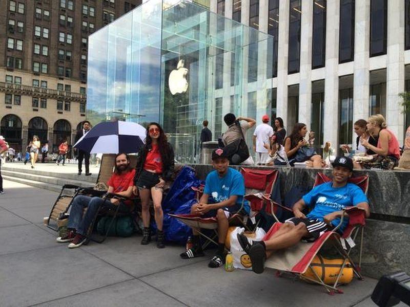 iPhone 6_ las personas ya hacen fila para comprarlo