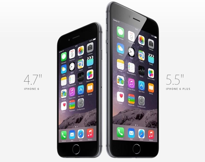 presentan iPhone 6 y iPhone 6 plus
