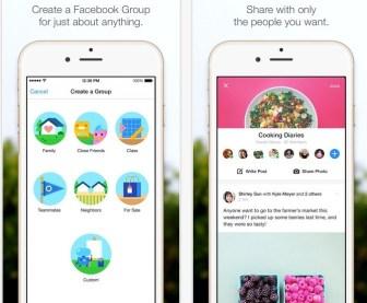 Facebooks Groups, la nueva app para gestionar grupos