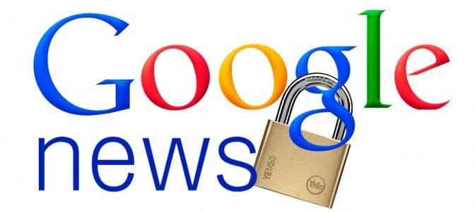Google News Cierra