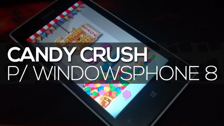 candy crush windows phone aplicación móvil