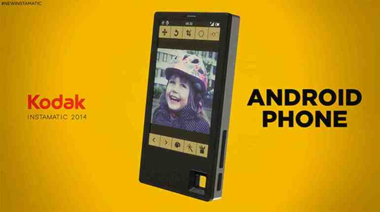 kodakphone CES 2015