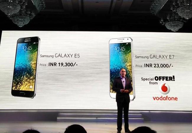 Galaxy E5 y E7