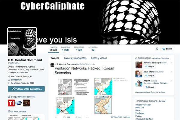 """""""Vamos por ustedes"""" amenazaron los hackers. Foto: captura de Twitter"""