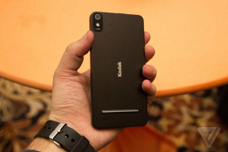 El Kodak IM5 apuesta por la simplicidad y la facilidad de uso. Foto: The Verge