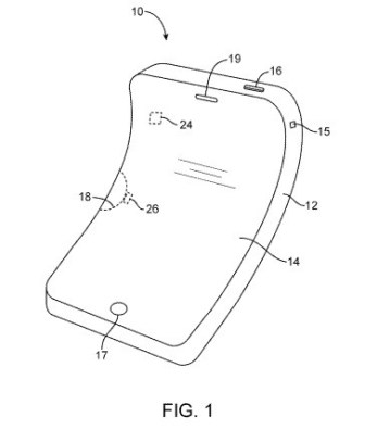 apple flexible patente