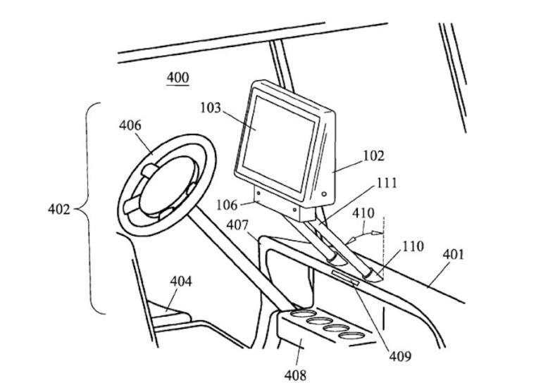 PatenteAppleElectricCar