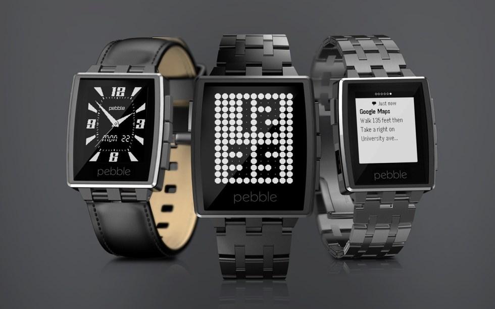 Sin hacer ruido, Pebble consiguió superar la cifra del millón de relojes inteligentes vendidos. Imagen: Pebble