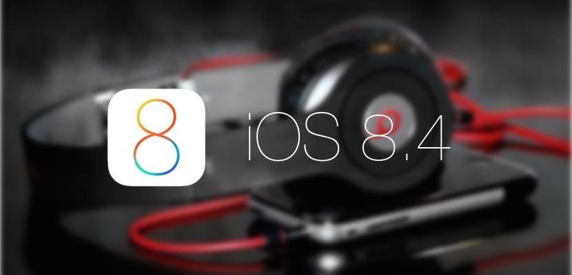 ios 8.4 con beats music