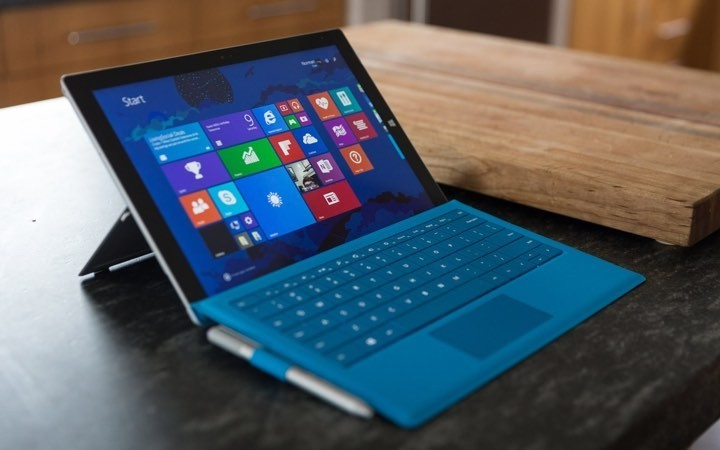 La Microsoft Surface Pro 3.