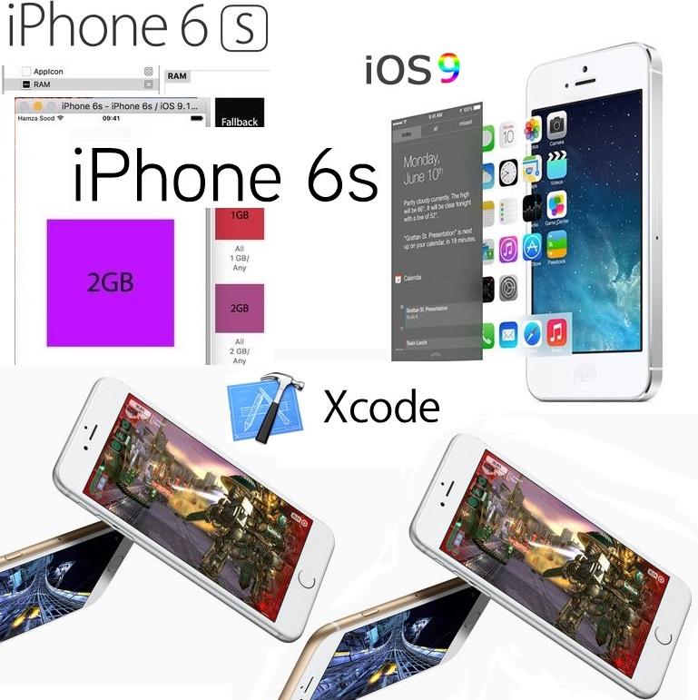 apple iphone 6s - 2 GB RAM