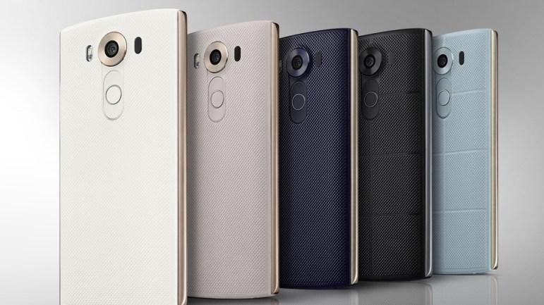 LG V10 ¿Dos pantallas y tres cámaras? ¡Qué raro!
