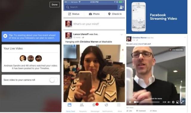 Facebook expande Live Video Todos a subir videos en vivo
