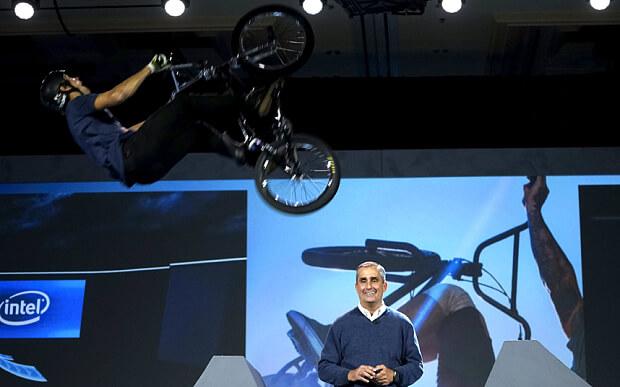 Intel drone CES