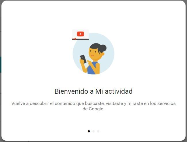 Mi actividad de Google