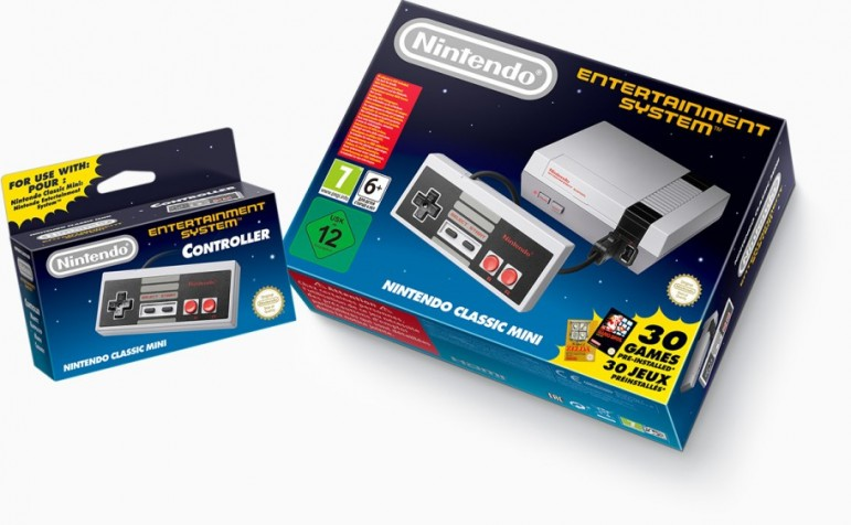 Nintendo traera de vuelta NES Classic Edition