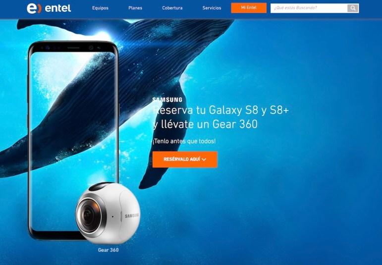 Entel Samsung Galaxy S8