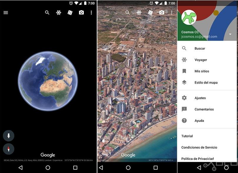 Google Earth lanza nueva versión para Android con inteligencia artificial-2