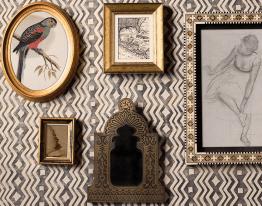 Fortuny - exotische Drucke Hoyer & Kast Interiors